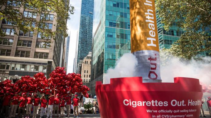 CVS officially snuffs out tobacco sales,