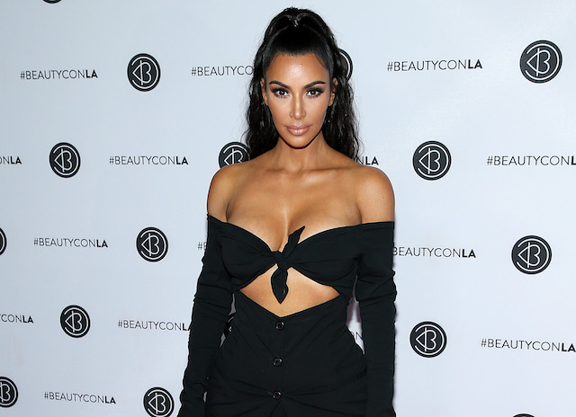 Kim Kardashian West attends the Beautycon Festival LA 2018 at the Los Angeles Convention Center