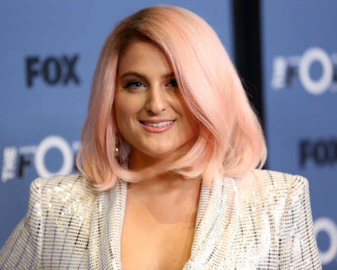 Meghan Trainor attends premiere of The Four: Battle for Stardom