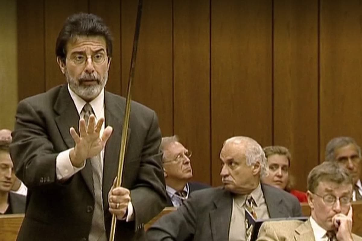 David Rudolf in The Staircase