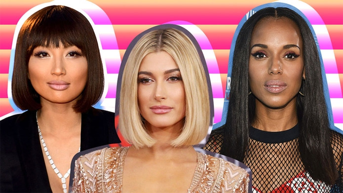 The 20 Best Celebrity Blunt Haircuts
