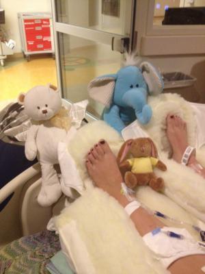 sydney-galleger-hospital-bed