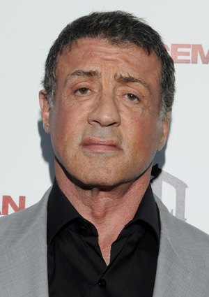 Sylvester Stallone at Iceman premiere