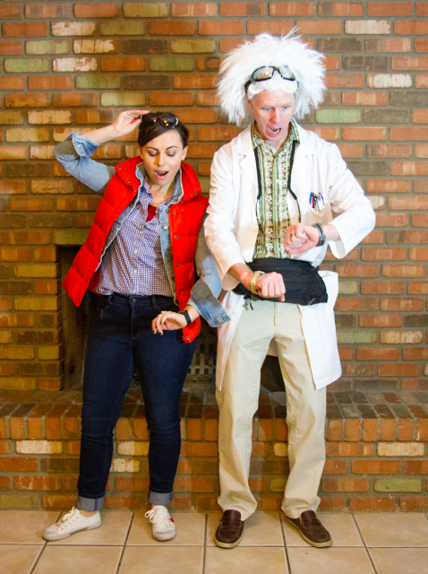 Marty Mcfly & Doc costume