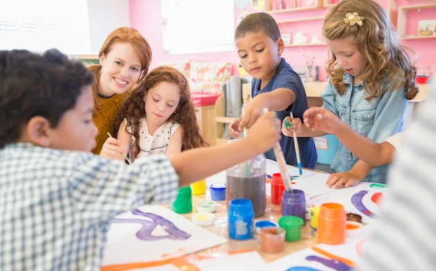 Childcare fees now rival private school