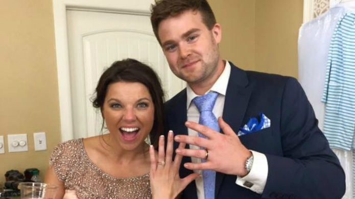 Amy Duggar's husband responds to the