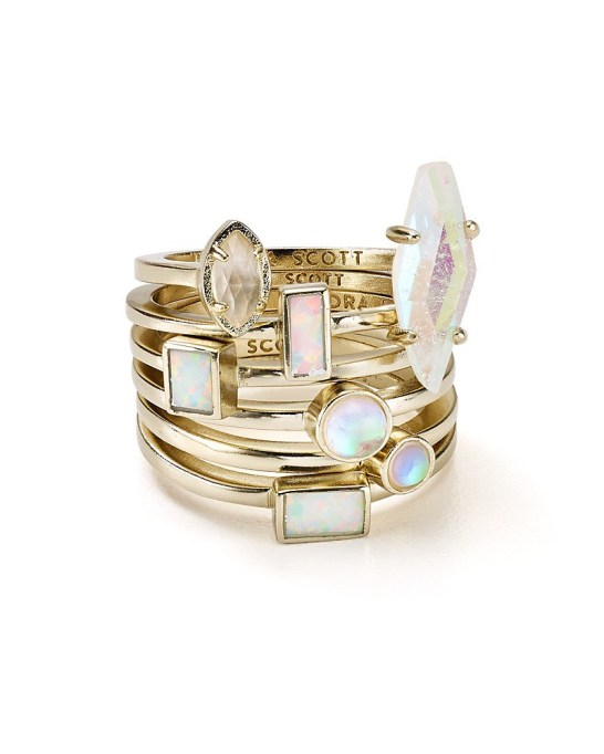 Stackable Rings To Stock Up On: Kendra Scott Phoebe Stacking Rings | Summer Fashion 2017