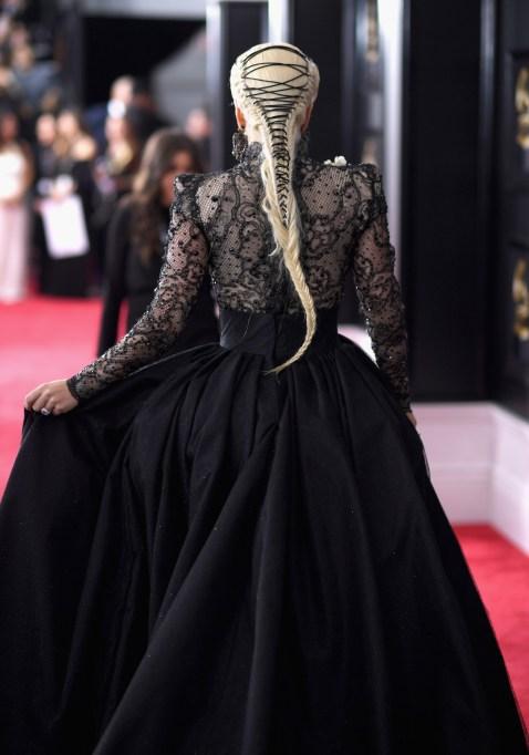 Grammys 2018 Fashion: Lady Gaga's Hair