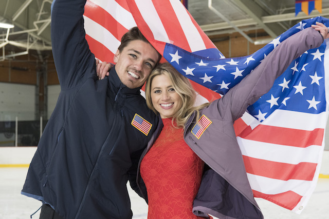 Dean Unglert & Lesley Murphy on 'Bachelor: Winter Games'