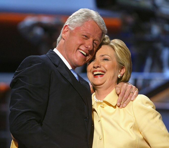 clintons-through-the-years-2004