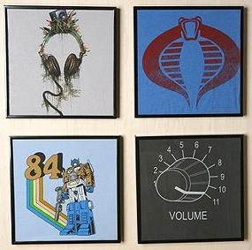 T-shirt frames