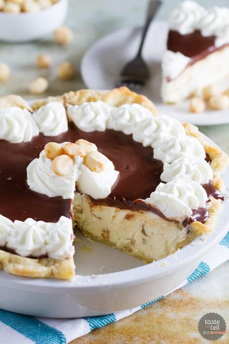New Twists on Classic Thanksgiving Pies: No-Bake White Chocolate Macadamia