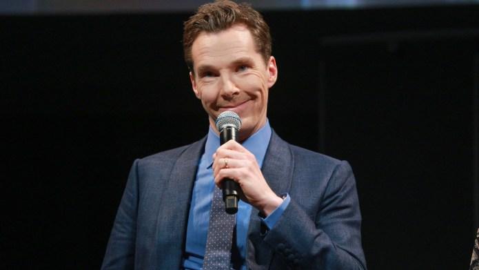 Sherlock Star Benedict Cumberbatch Fights Off