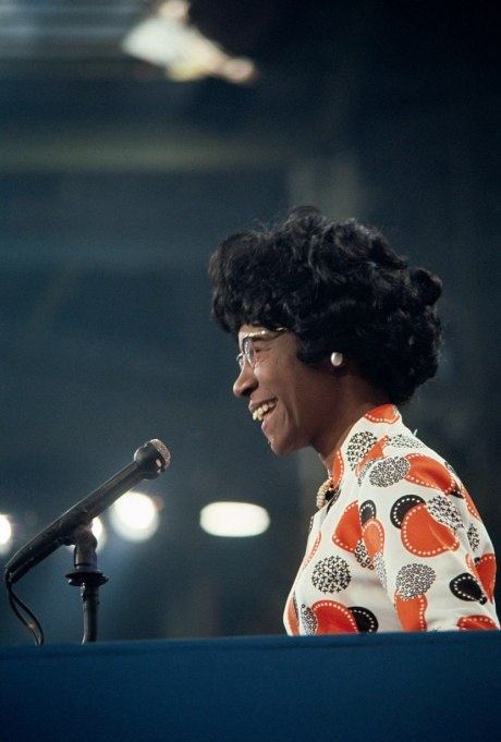 Feminist Fashion Icons: Shirley Chisholm