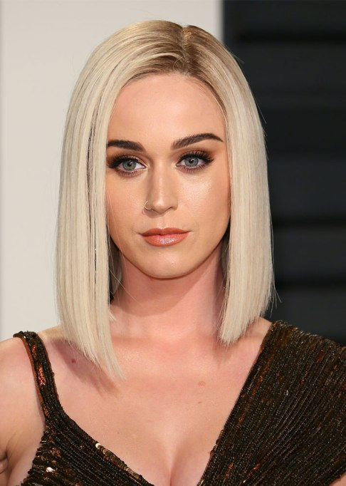 Dramatic Celebrity Hair Makeovers | Before: Katy Perry