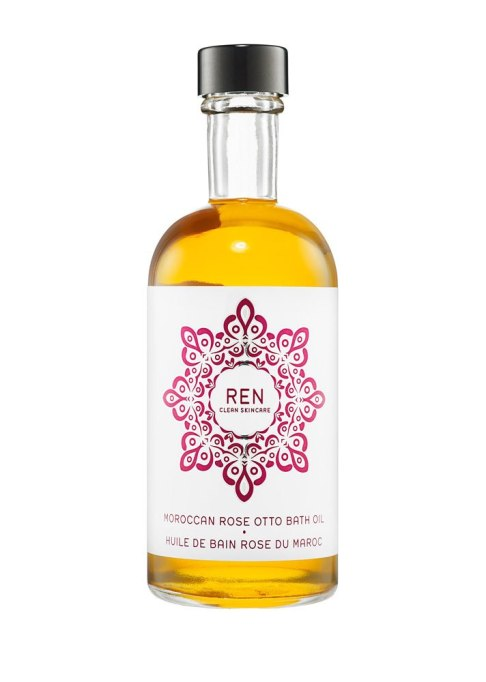 Decadent Bath Products To Try | Ren Moroccan Rose Otto Bath Oil