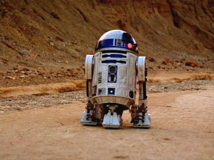 Kenny Baker as R2D2