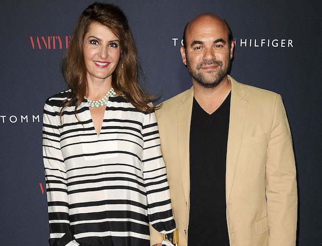 Nia Vardalos and Ian Gomez attend the debut of Tommy Hilfiger's Capsule Collection
