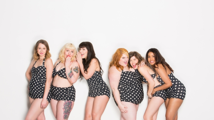 10 Women own their body types
