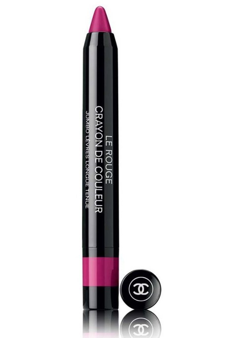 Best Lip Crayons To Try This Summer: Chanel Le Rouge Crayon de Couleur Jumbo Longwear Lip Crayon in Fuschia | Summer Style 2017