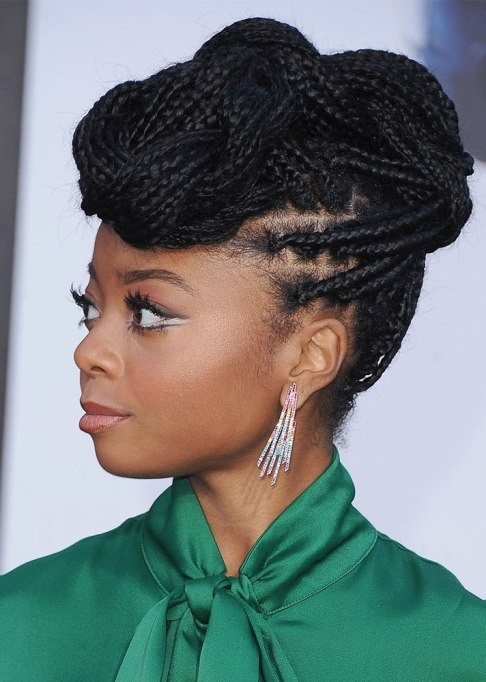 Best Celebrity Braids: Skai Jackson | Celeb Hair Inspo 2017