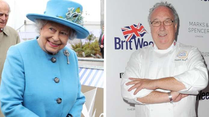 The Queen's Former Personal Chef Dishes