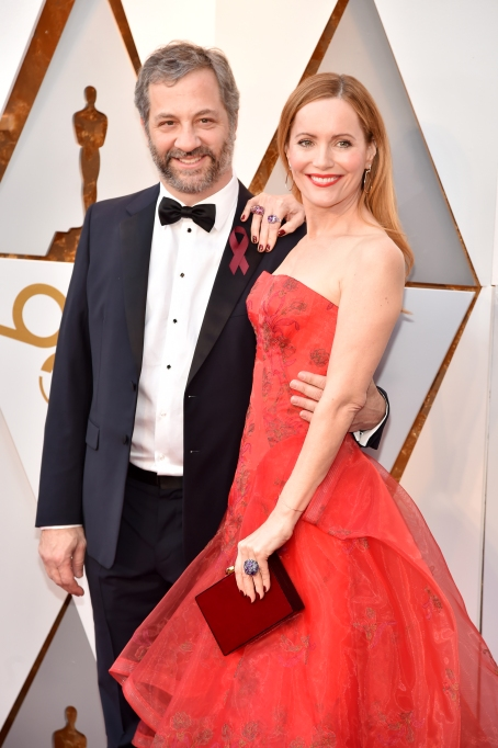 Judd Apatow, Leslie Mann at the Oscars 2018