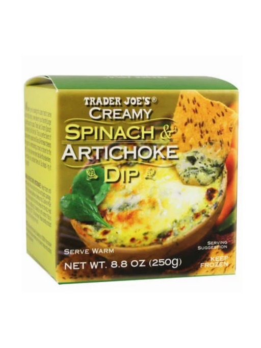 Trader Joe's Game Day Snacks: Spinach and Artichoke Dip