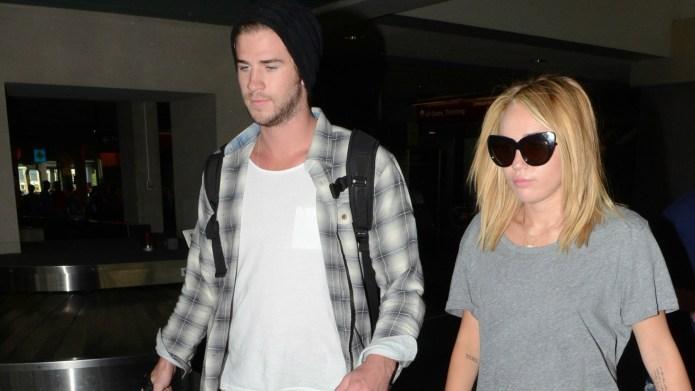 Miley Cyrus & Liam Hemsworth's date