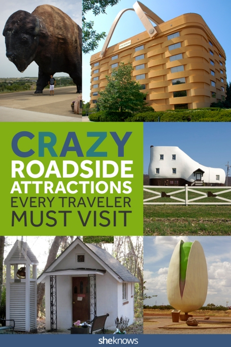 Weirdest Roadside Attractions in America Pin image