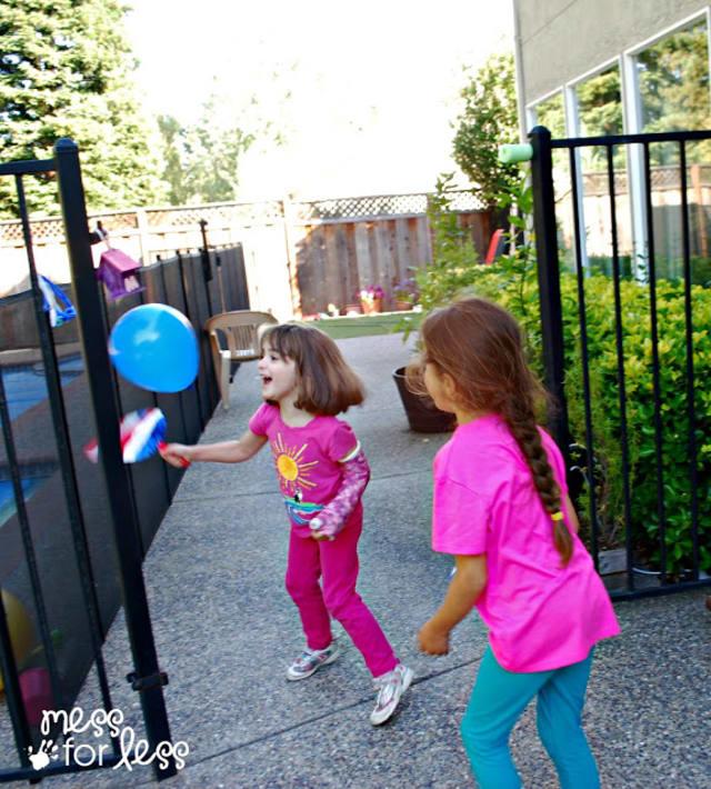 Balloon game DIY