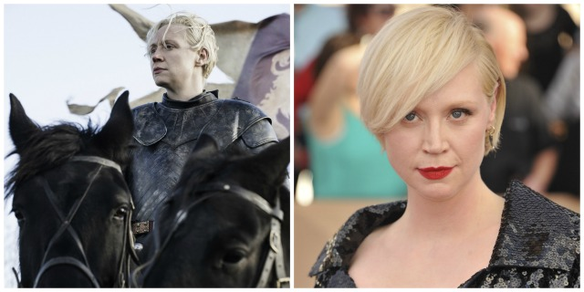 These 'Game of Thrones' characters look totally different in real life: Brienne of Tarth vs. Gwendoline Christie