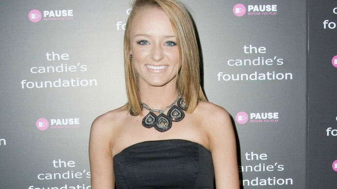 Teen Mom's Maci Bookout is itching