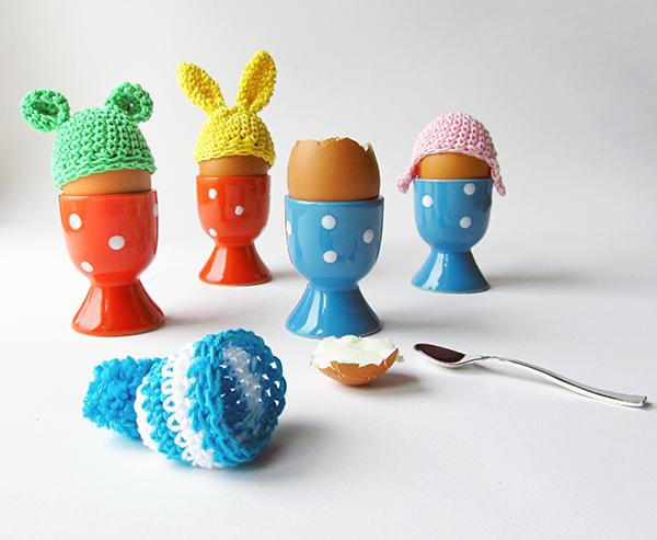 Crochet some cute hats for your