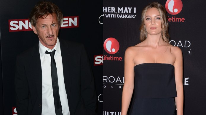 Sean Penn & new lady Leila