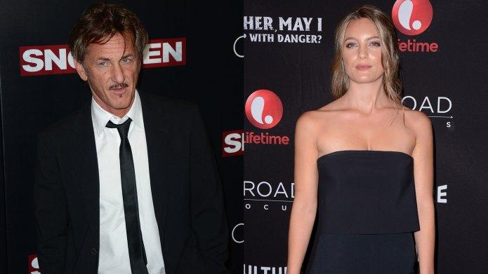 Sean Penn & new lady Leila