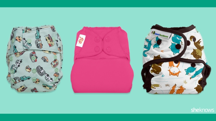 Cloth diapers so stinkin' cute we