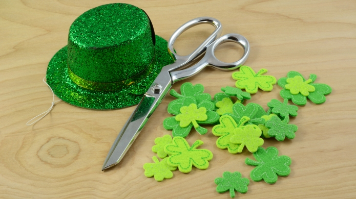 Saint Patrick's Day Crafting project with