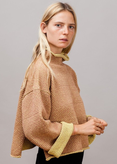 Summer Sweaters: Eckhaus Latta Vented Cropped Sweater   Summer fashion 2017