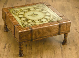 Square Clock Coffee Table