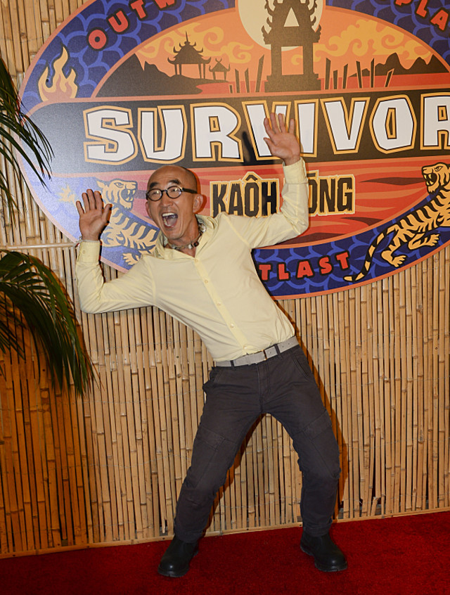 Tai Trang on the red carpet at the Survivor: Kaoh Rong finale