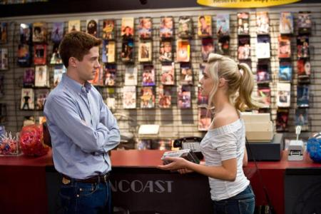 Take Me Home Tonight's Topher Grace and Teresa Palmer