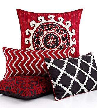 Macy's ikat pillows