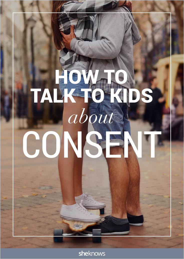talking to kids about consent