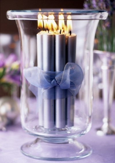 Tall cluster candles