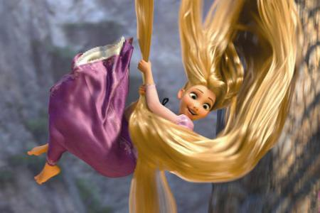 Mandy Moore is Tangled
