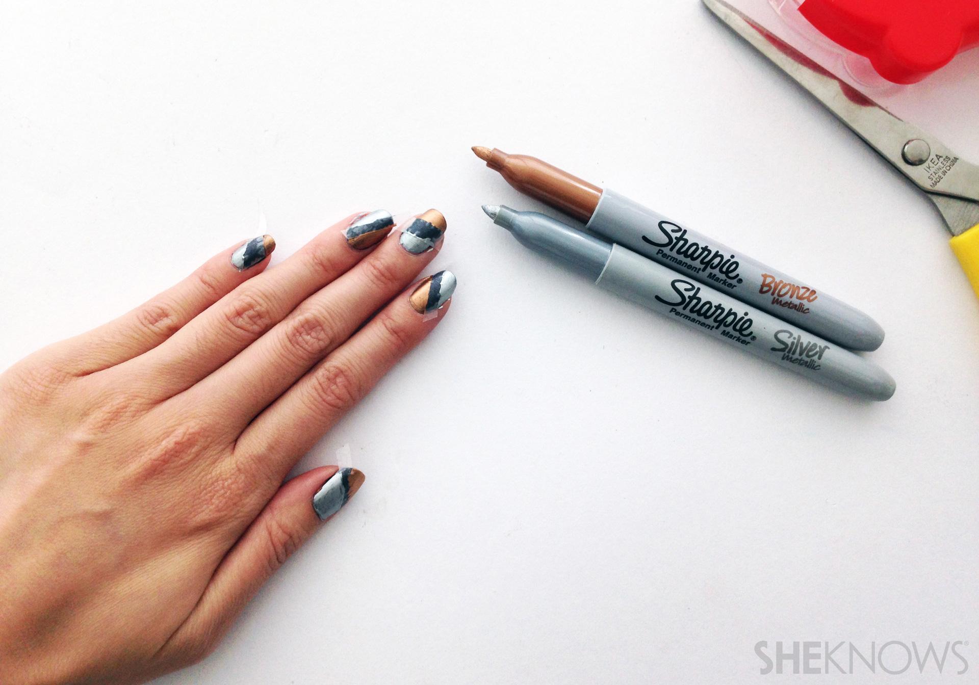 Step 2: Paint your design