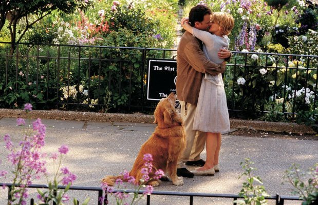 movie kisses You've Got Mail