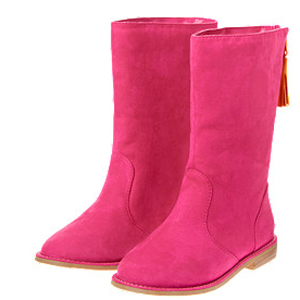 Tassel boots for girls