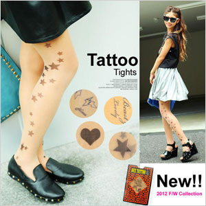 Tattoo leggings